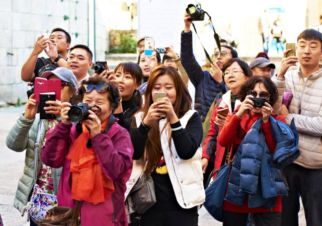 Ilustrasi turis asal China