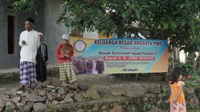 Kedatangan Siti Aisyah di kampung halaman