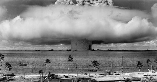 Ilustrasi bom nuklir