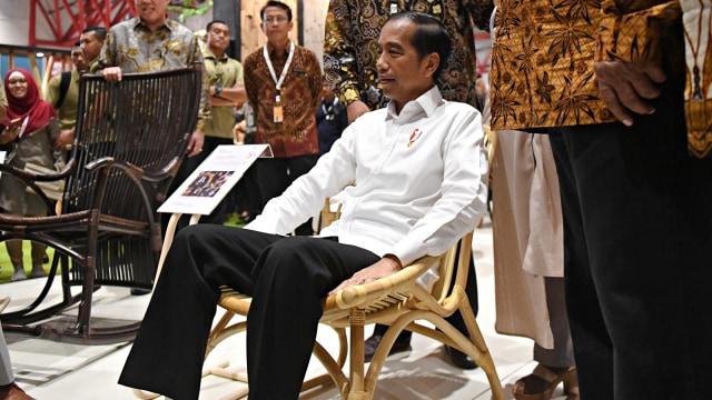 Jokowi, IFEX 2019, Jakarta