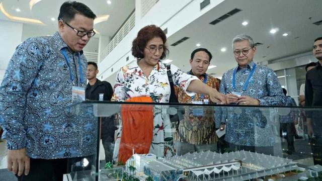 Menteri KKP, Susi Pudjiastuti, Pasar Ikan Modern Muara Baru