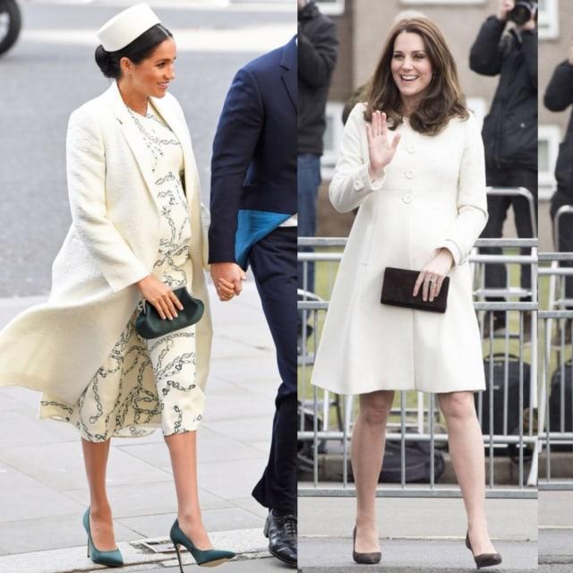 Gaya Kate Middleton dan Meghan Markle