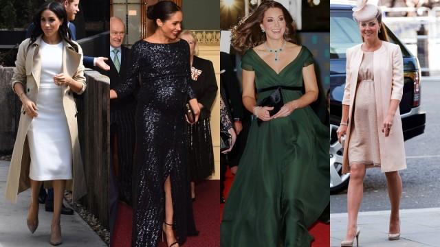Gaya fashion Meghan Markle dan Kate Middleton