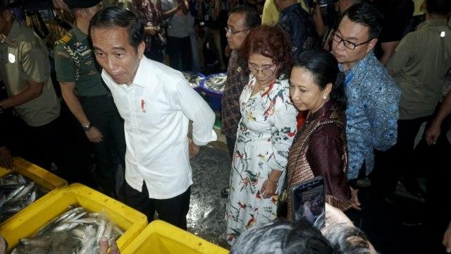 Presiden Joko Widodo, Pasar Ikan Modern Jakarta Utara