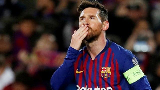 Barcelona melawan Lyon