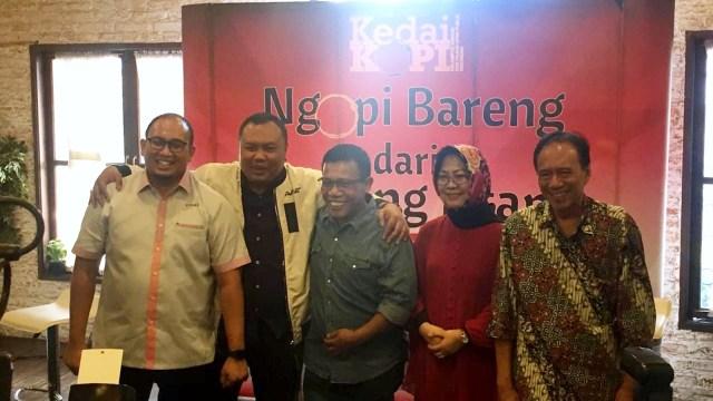 Diskusi Kedai Kopi 'Siapa Berani Debat Ulama?' di Ajag Ijig, Jakarta Pusat