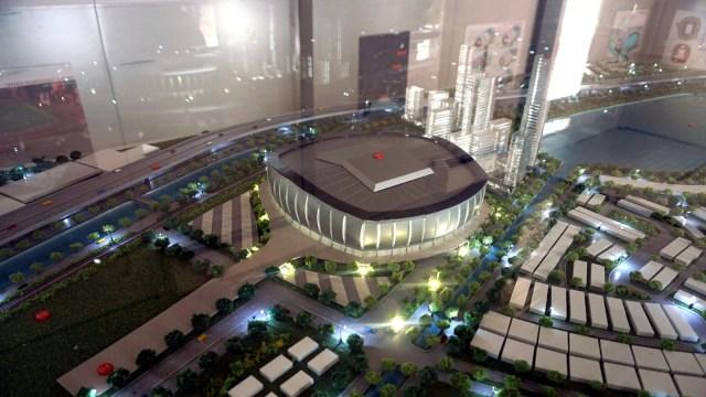 Maket Jakarta International Stadium