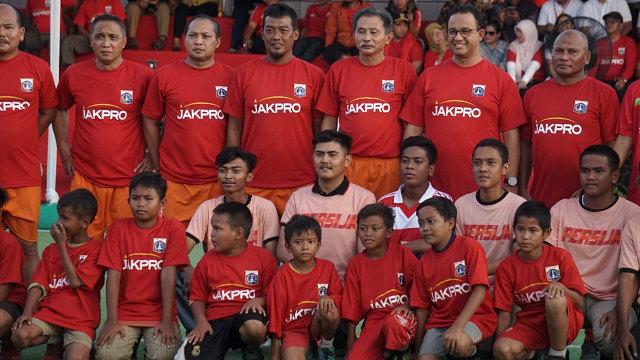 Gubernur DKI Jakarta, Anies Baswedan, Kick off Pembangunan Jakarta International Stadium