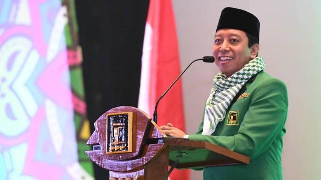 Ketua Umum Partai Persatuan Pembangunan (PPP) Romahurmuziy