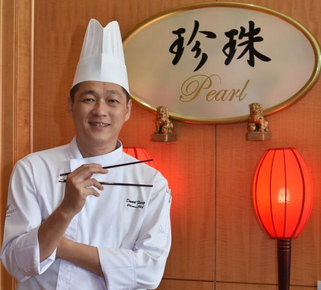 Chef Daniel Foong.