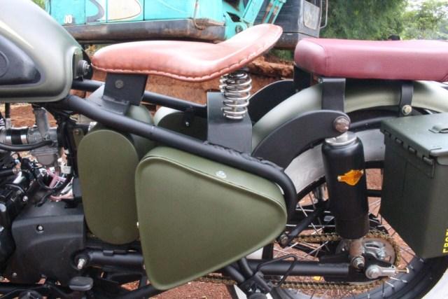 Kawasaki W175 Dirombak Jadi Royal Enfield Classic 500  (518052)