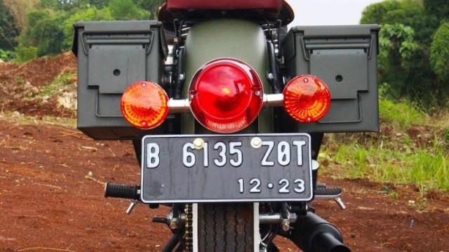 Kawasaki W175 Dirombak Jadi Royal Enfield Classic 500  (518053)