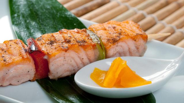 Sate Salmon