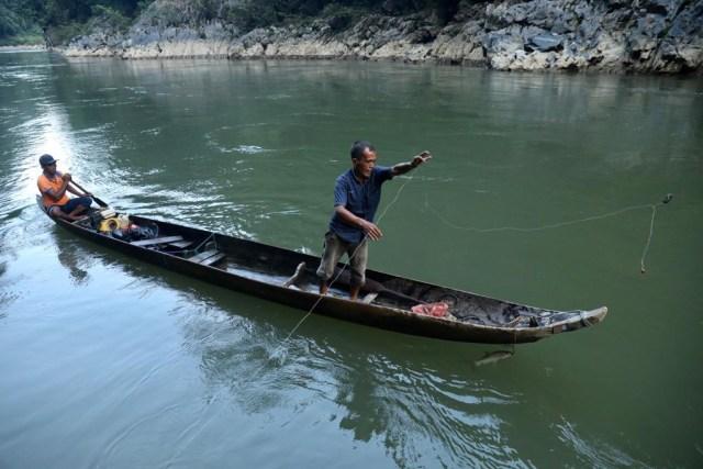 Berburu Ikan Kesukaan Sultan di Krueng Teunom, Aceh (103019)