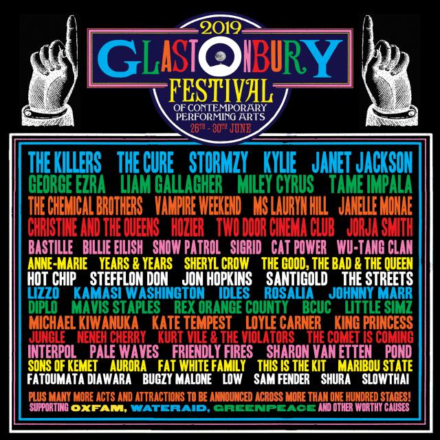 Glastonbury 2019 (not cover)