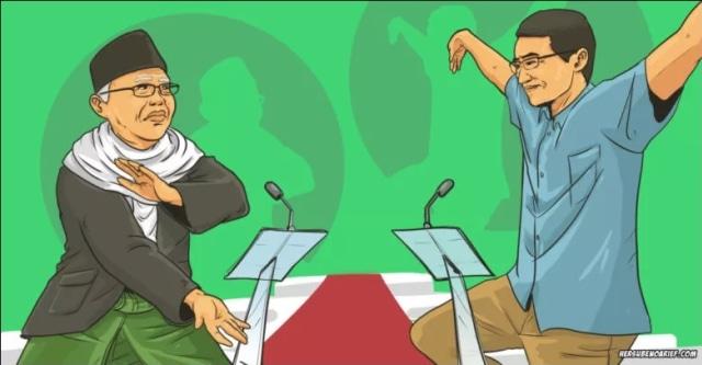 Debat Antar-Cawapres: Sandi Jangan Lupa, Ma'ruf Amin adalah Politisi (381456)