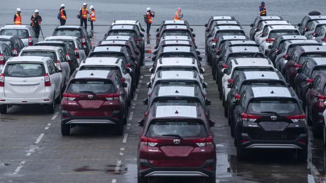 mobil baru, Indonesia Kendaraan Terminal, IPC Car Terminal, ekspor