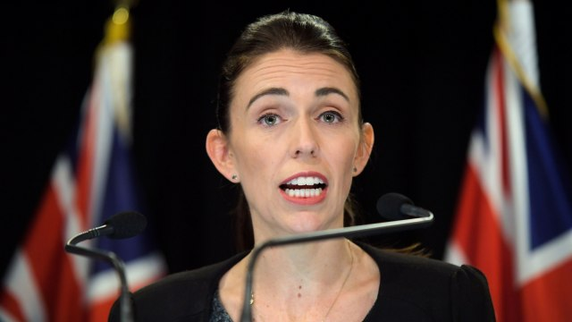 Perdana Menteri Selandia Baru Jacinda Ardern