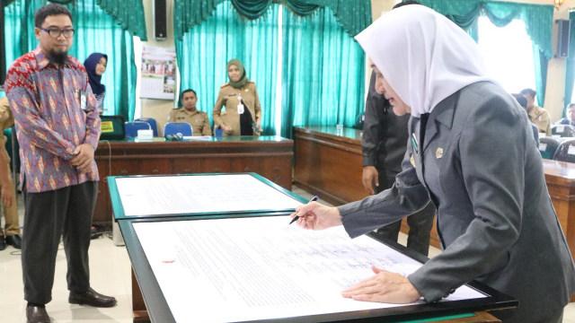 KPK Beri Pembekalan Pada Pejabat Pemkab Bojonegoro (99192)
