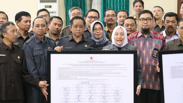 KPK Beri Pembekalan Pada Pejabat Pemkab Bojonegoro (99193)