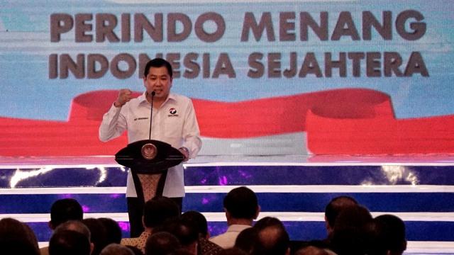 Ketua Umum Partai Perindo, Harry Tanoesoedibjo, Rakornas Partai Perindo 2019