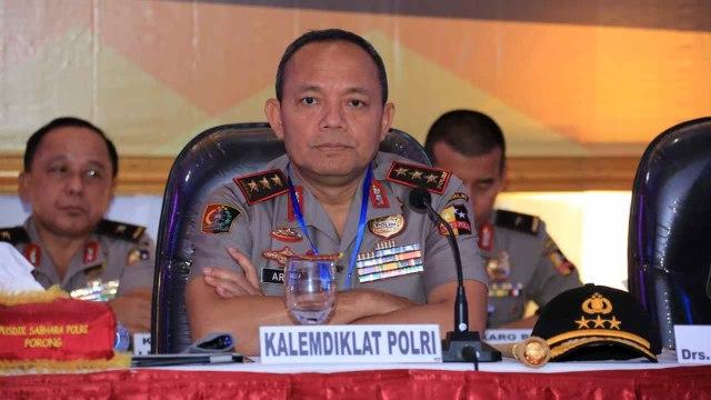 31 Kepala Sekolah Polisi Negara (SPN) dan Kapusdik, Jawa Timur