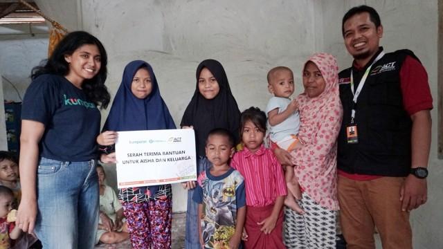 Crowdfunding Rasilu, keluarga Wa Oni