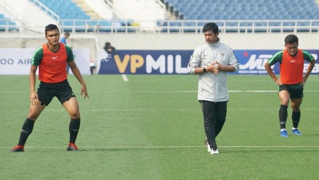Timnas Indonesia U-23, Latihan, Vietnam, Kualifikasi Piala Asia U-23