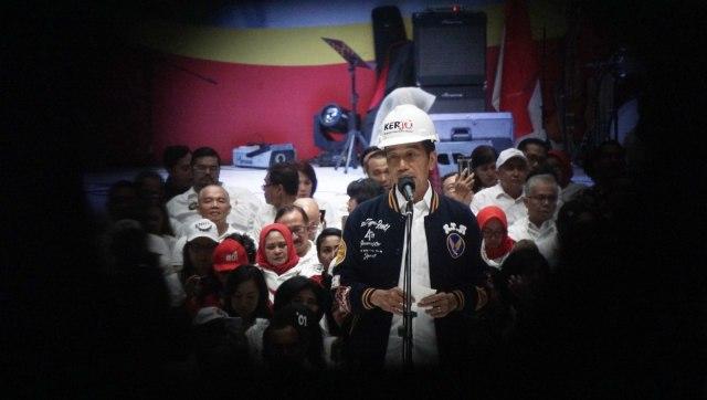 Capres no urut 01, Joko Widodo di Deklarasi Dukungan 10.000 Pengusaha untuk Jokowi-Amin