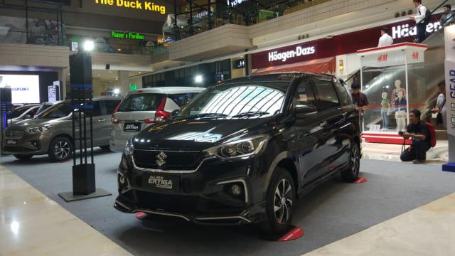 Otomotif, Ertiga SPort, Ertiga, Suzuki,  mobil baru 2019