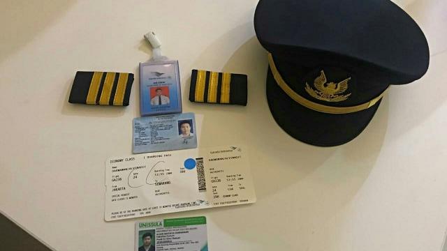 Pilot Gadungan, Garuda