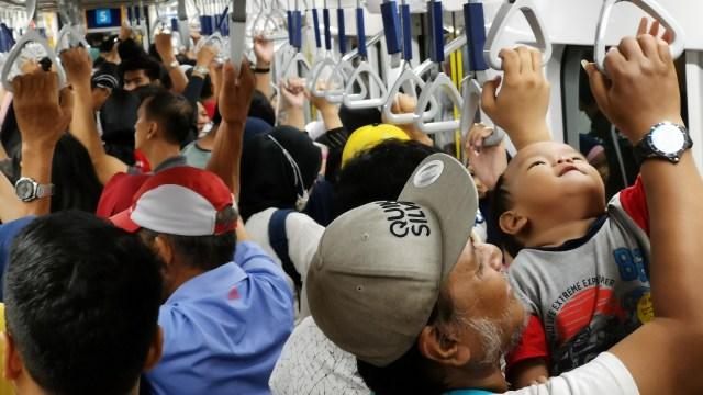 Uji coba terkahir MRT Jakarta