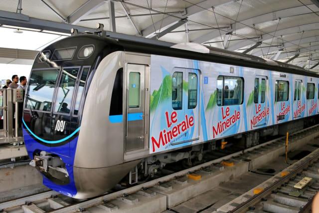 com-Le Minerale Berkolaborasi dengan MRT