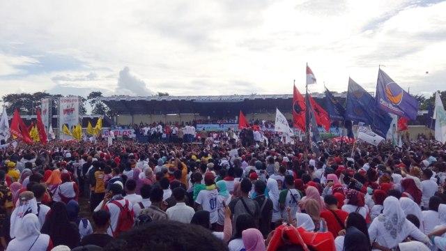 kampanye akbar paslon 01 Jokowi-Ma'ruf, Stadion Maulana Yusuf di Serang, Banten