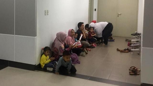 Suasana di dalam stasiun MRT Bundaran HI