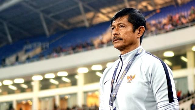 Pelatih Timnas Indonesia U-23, Indra Sjafri, kualifikasi Piala Asia U-23 2020, Indonesia vs Vietnam di Stadion My Dinh, Hanoi