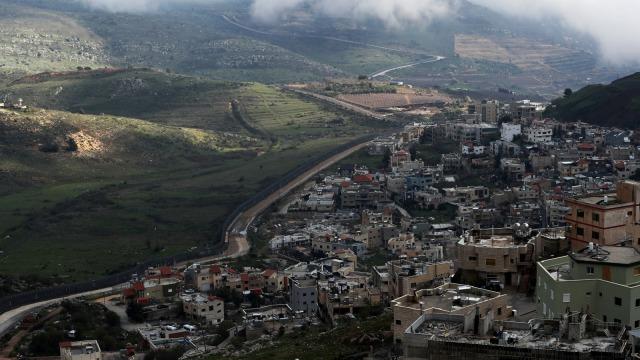 Dataran Tinggi Golan yang diduduki Israel