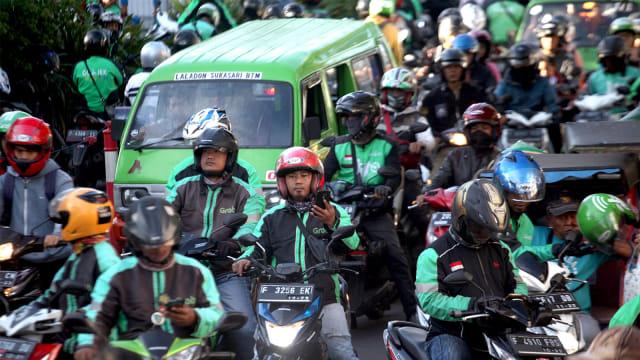 Ojol Ancam Demo Istana jika Tetap Dilarang Bawa Penumpang saat New Normal (207571)