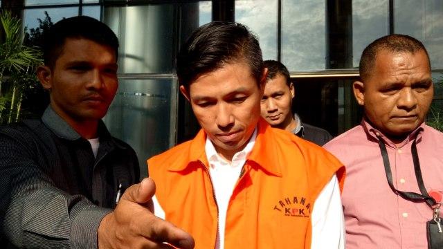 Kurniawan Eddy Tjokro alias Yudi Tjokro, swasta penyuap Direktur Operasional PT Krakatau Steel di tangkap KPK