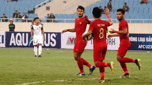 Piala Asia U-23, Timnas U-23 Indonesia, Indonesia vs Brunei Darussalam, Stadion My Dinh