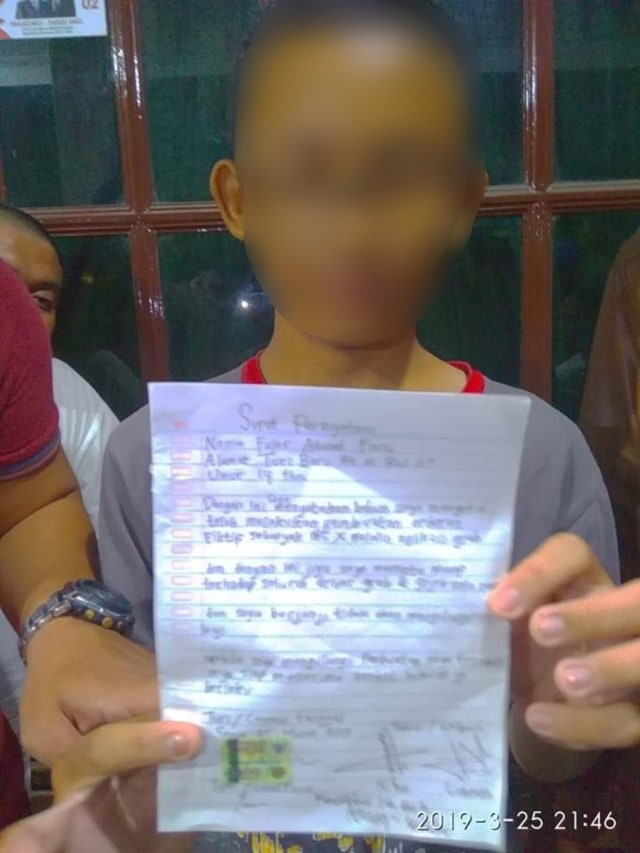 Pengakuan Bocah Pelaku Order Fiktif Di Sukoharjo Niatnya Mau