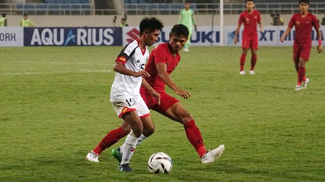 Piala Asia U-23, Timnas U-23 Indonesia, Indonesia vs Brunei Darussalam, Stadion My Dinh, Dimas Drajad
