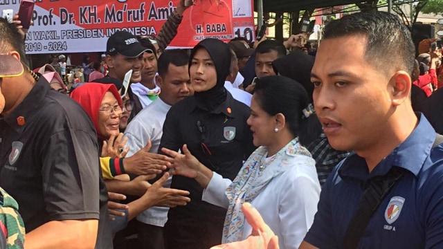 Iriana Jokowi, Kampung Nelayan Manggar, Balikpapan