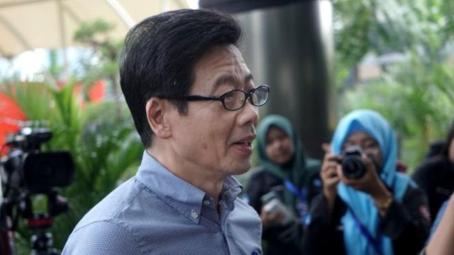 Pemilik PT Borneo Lumbung Energi, Samin Tan, di KPK