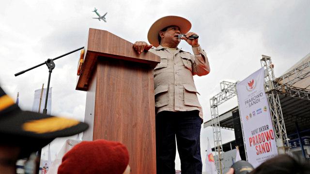 Calon Presiden nomor urut 02, Prabowo Subianto, Bandung
