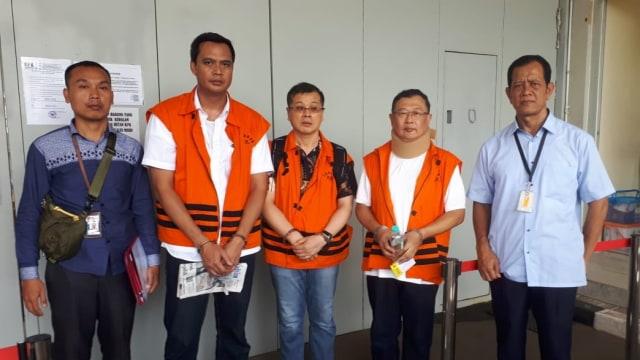 KPK eksekusi 3 terpidana kasus Kalteng ke Lapas
