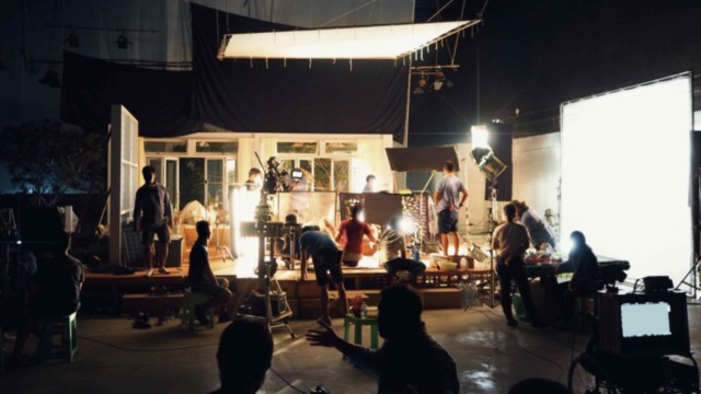 LIPSUS, Dari Cerita Ke Layar, Ilustrasi Shooting Film