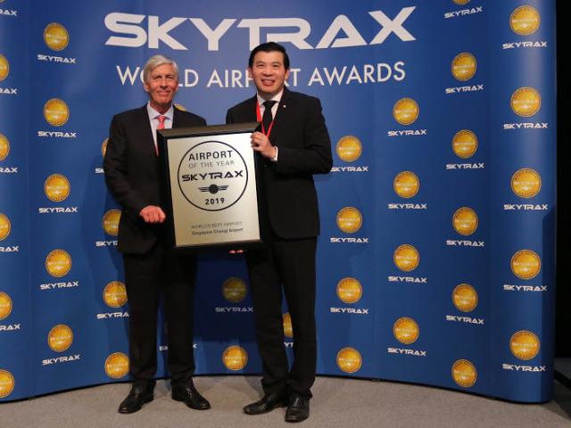 Changi Airport Medapat Penghargaan Best World Airport 2019 dari Skytrax