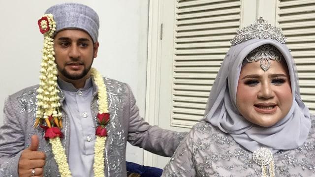 Pernikahan Dhawiya Zaida