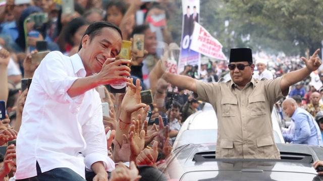 Gaya, Jokowi, Prabowo, Kampanye